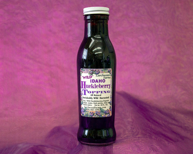 Wowza! Huckleberry Topping to make a delicacy out of your evening dessert!