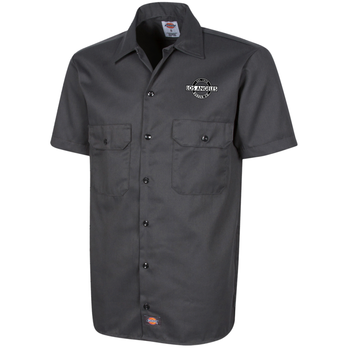 LA Rubber Workshirt by Dickies blk/wht