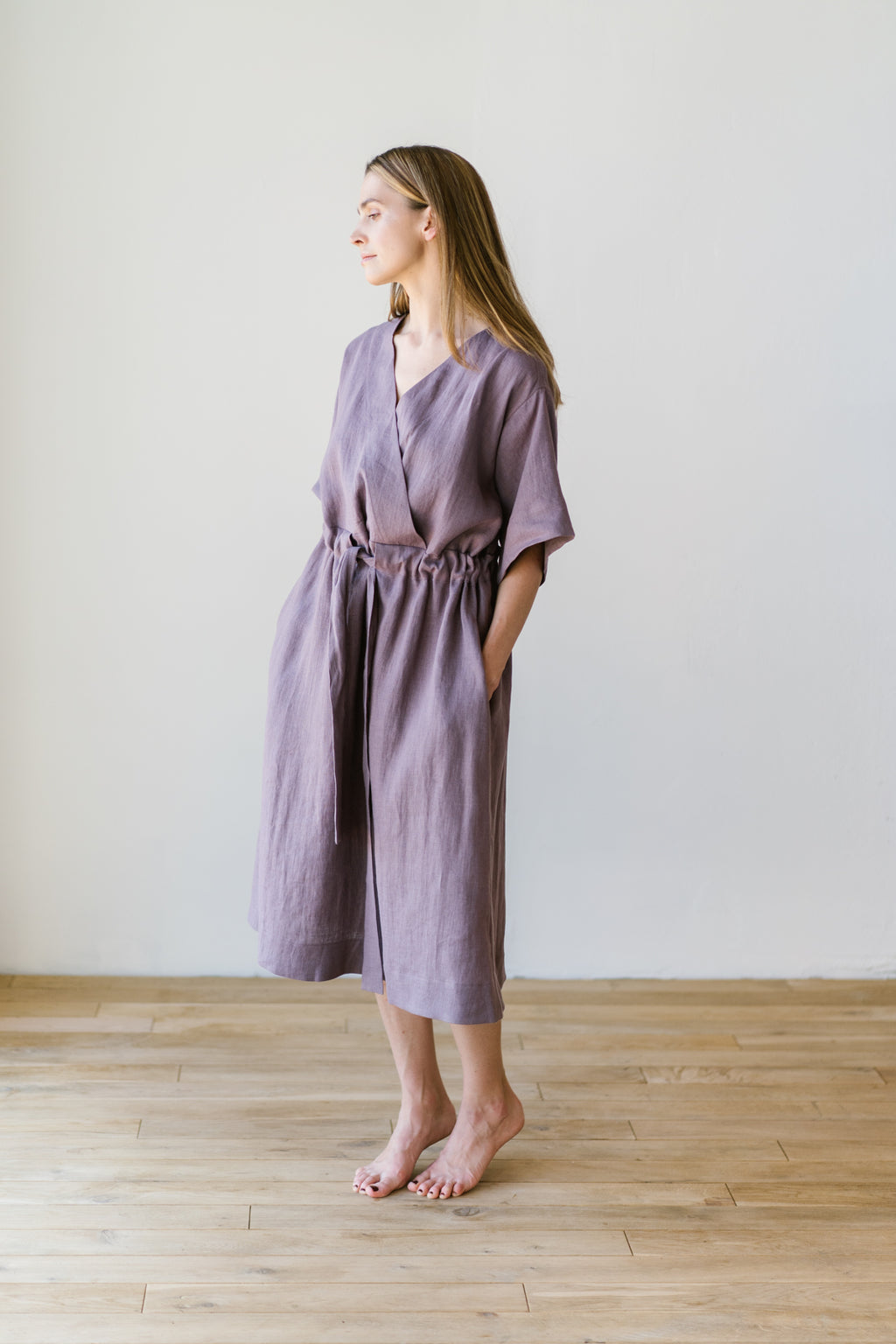 Silence Dress Wild Lavender