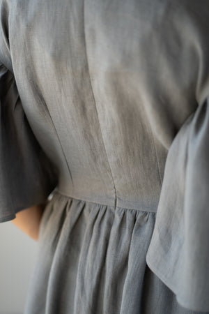 Intuitive Dress Grey Earth