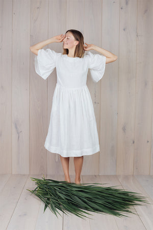 Intuitive Dress White Milk