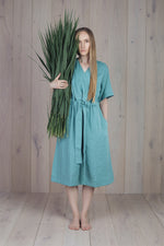Silence Dress Sea Green