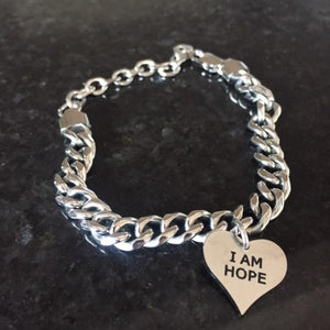 Stainless Steel I am Hope Bracelet (Limited Edition)