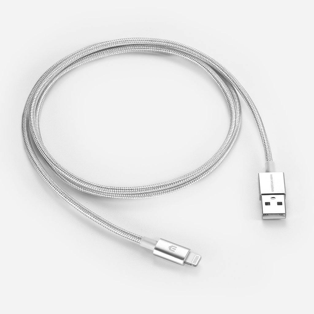 Nylon Braided [C89] iPhone Charger Cable - 1m+2m/ 3.3ft+6.6ft [2 Packs]