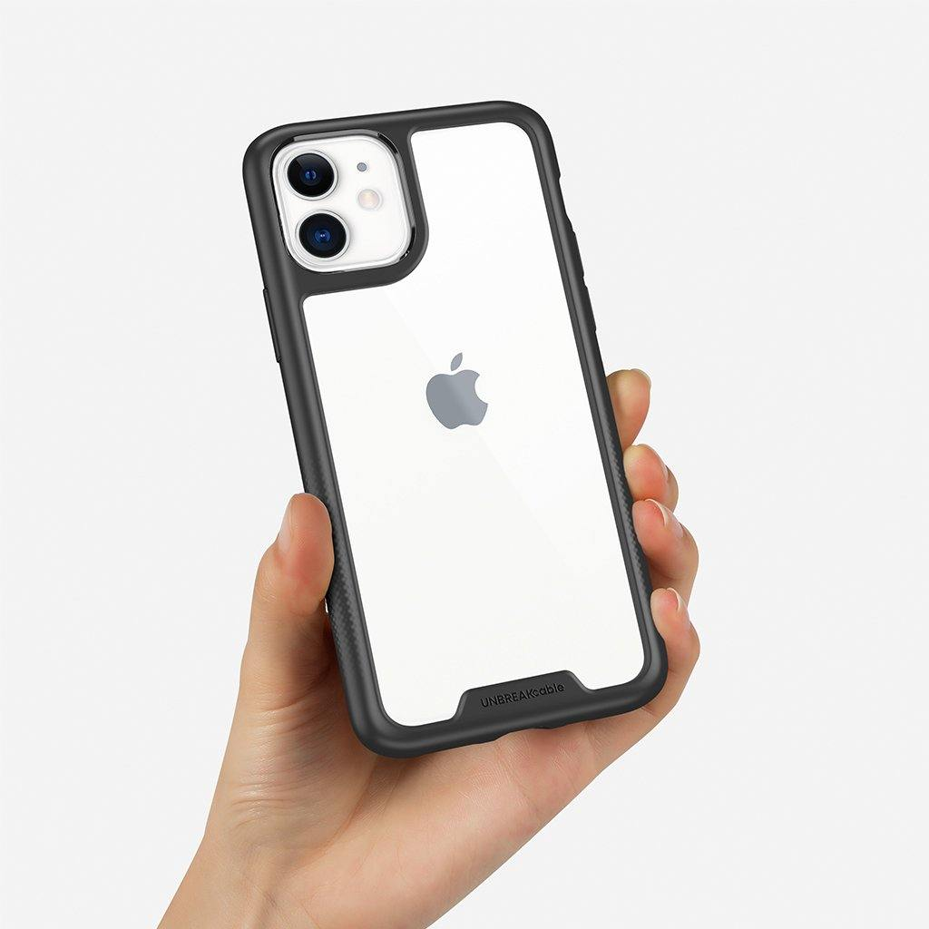 iPhone 11 PC+TPU Phone Case – Black