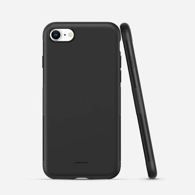 iPhone 8 Soft TPU Phone Case - Black