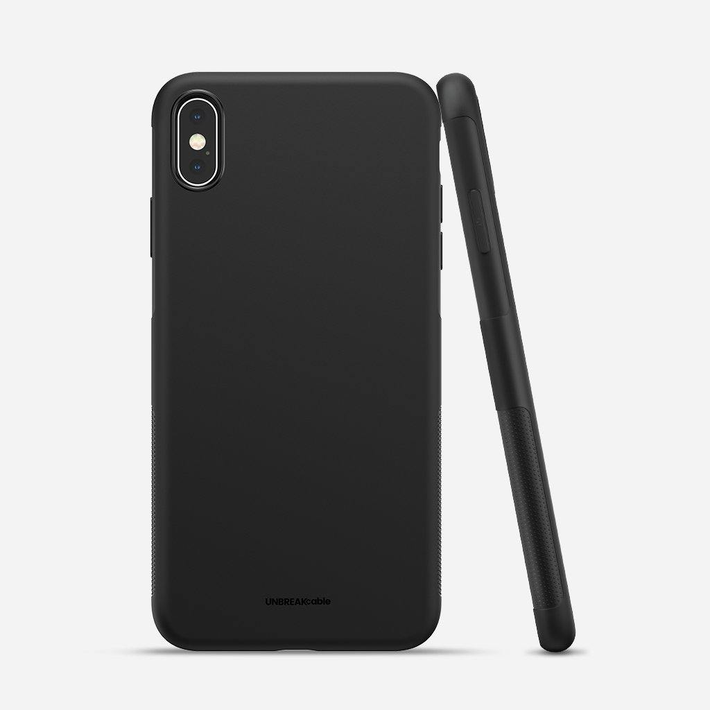 iPhone XS Max Soft TPU Phone Case - Black