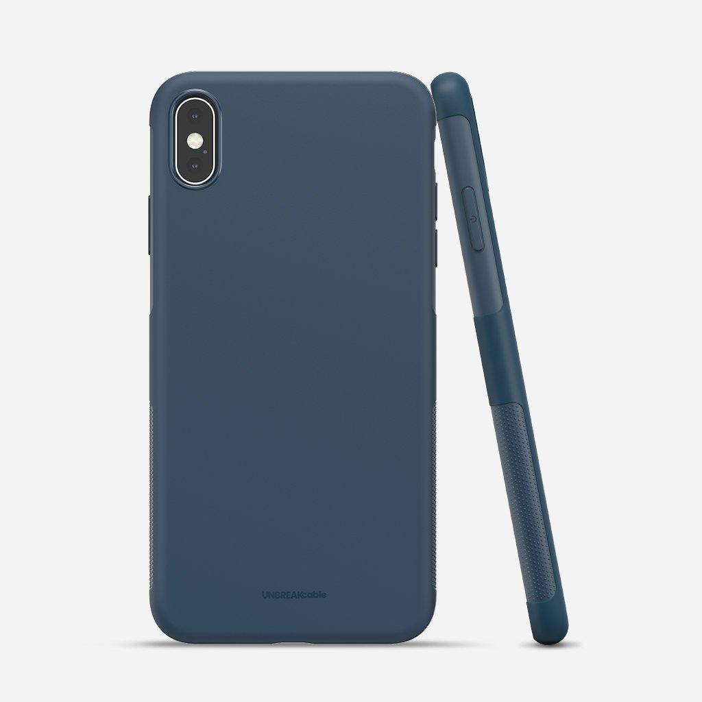 iPhone X/XS Soft TPU Phone Case - Blue