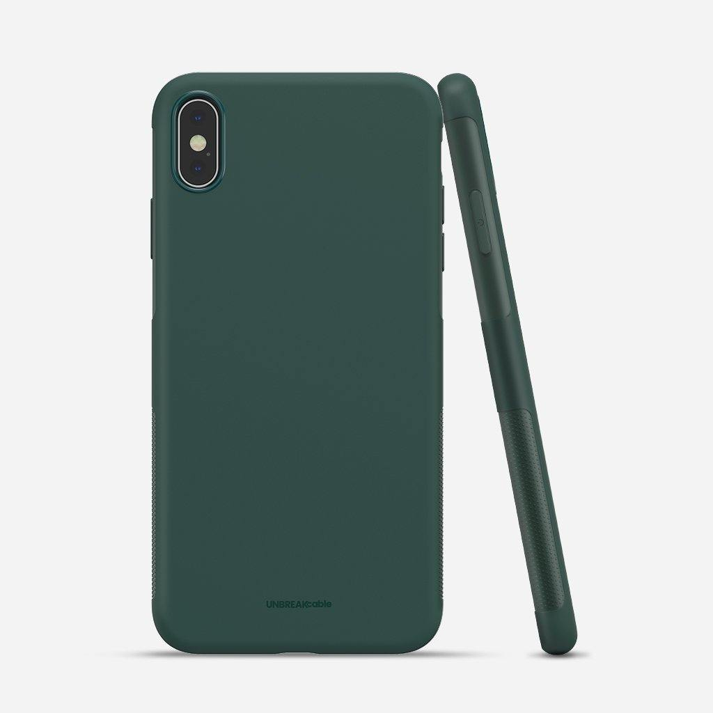 iPhone X/XS Soft TPU Phone Case - Green
