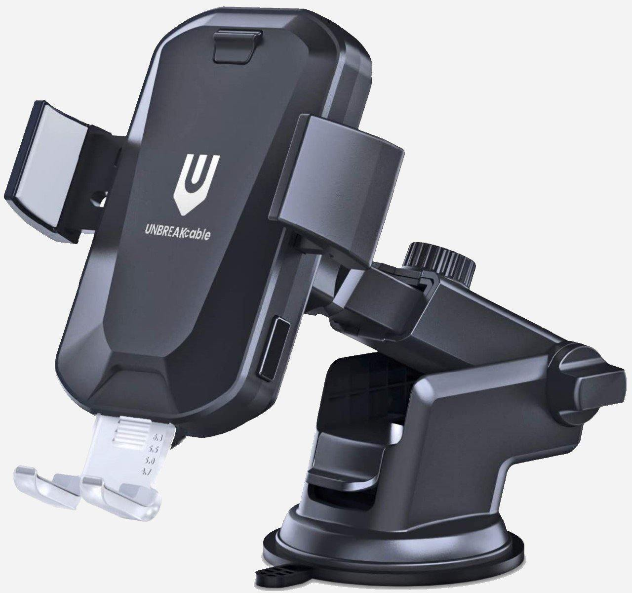 Auto-clamping Wireless Car Charger Mount