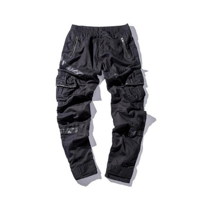 'Kaihime' Leather Cargo Pants