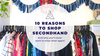 10 Reasons to Shop Secondhand