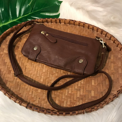 Urban Outfitters Ecote Mini Vegan Leather Envelope Crossbody Bag