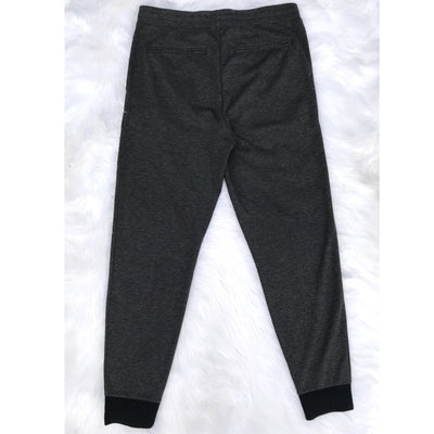 Vince Gray Pleated Zip Ankle Jogger Pants