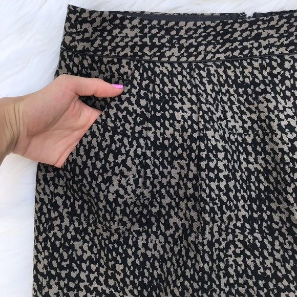 Gap Patterned Mini Pencil Skirt with Pockets