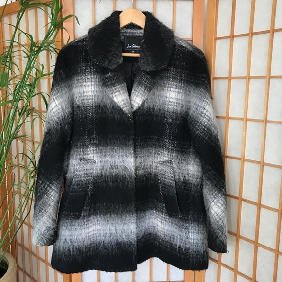 Sam Edelman 'Erin' Blurry Plaid Coat