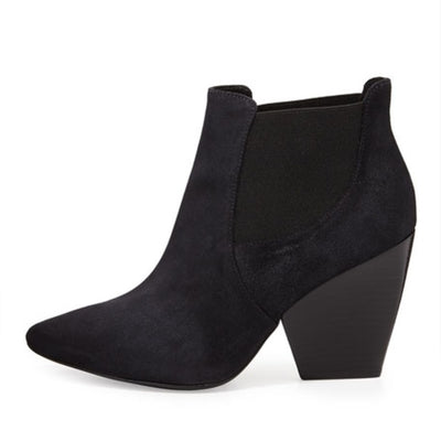 Pour la Victoire Allena Pointed Suede Ankle Boot