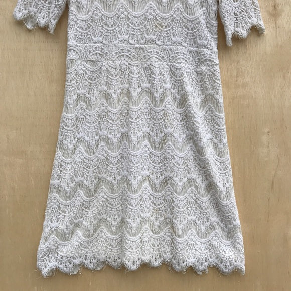 Pins and Needles Lace Quarter Sleeve Dress
