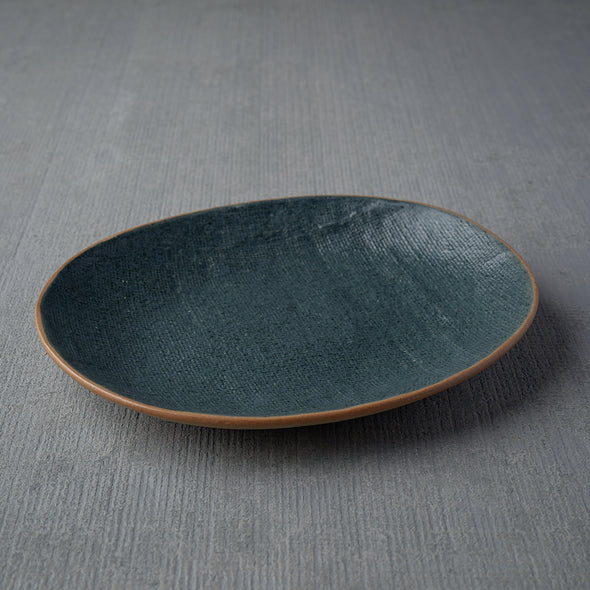 Fiber Small Oval Serving Plate