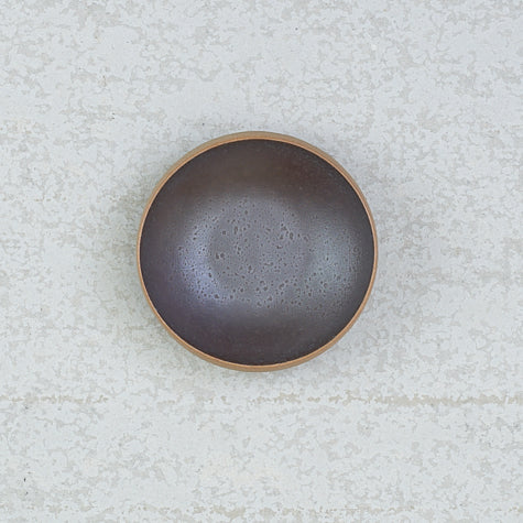 Leather Side Bowl