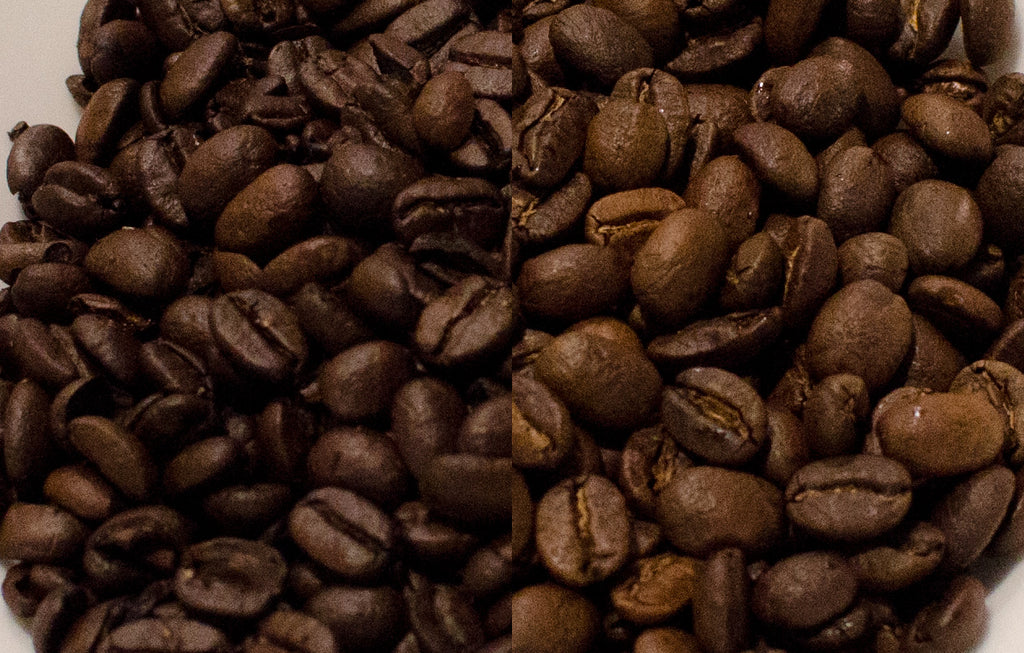 Coffee roast comparison