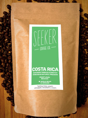 Costa Rica San Diego Tarrazu Strictly Hard Bean Natural Process