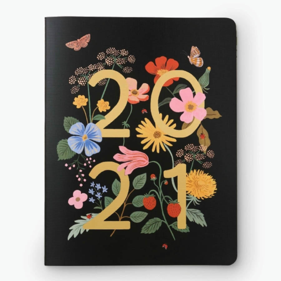 2021 12-Month Appointment Notebook