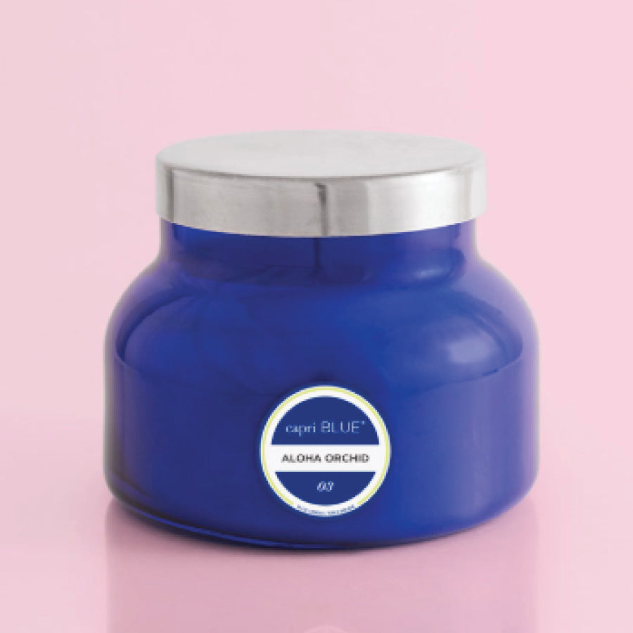 Aloha Orchid Blue Signature Jar, 19 oz