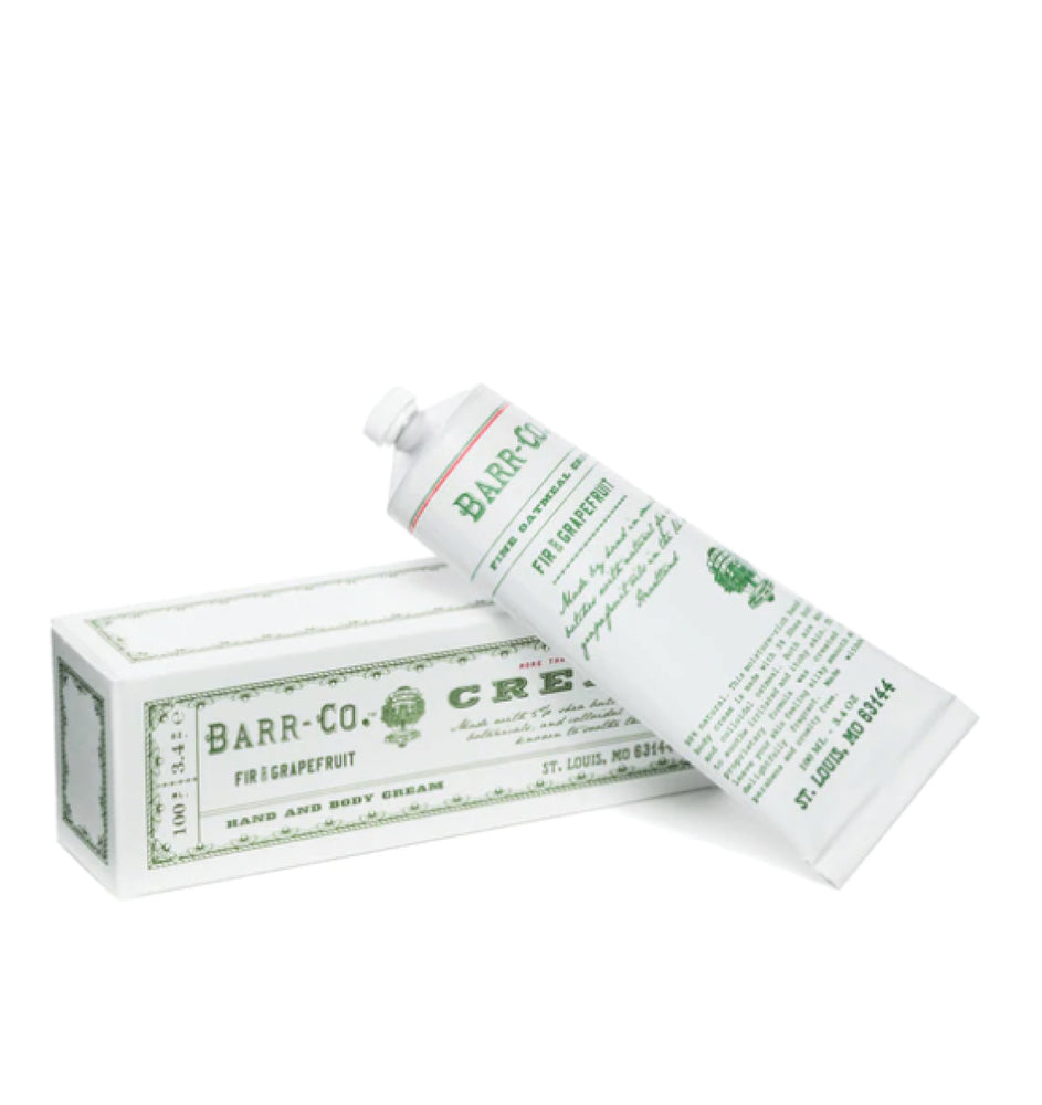 Barr-Co Fir And Grapefruit Hand Cream