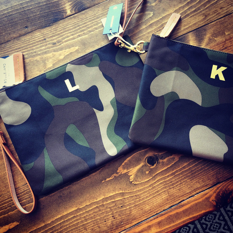 Personalized Nylon Clutch