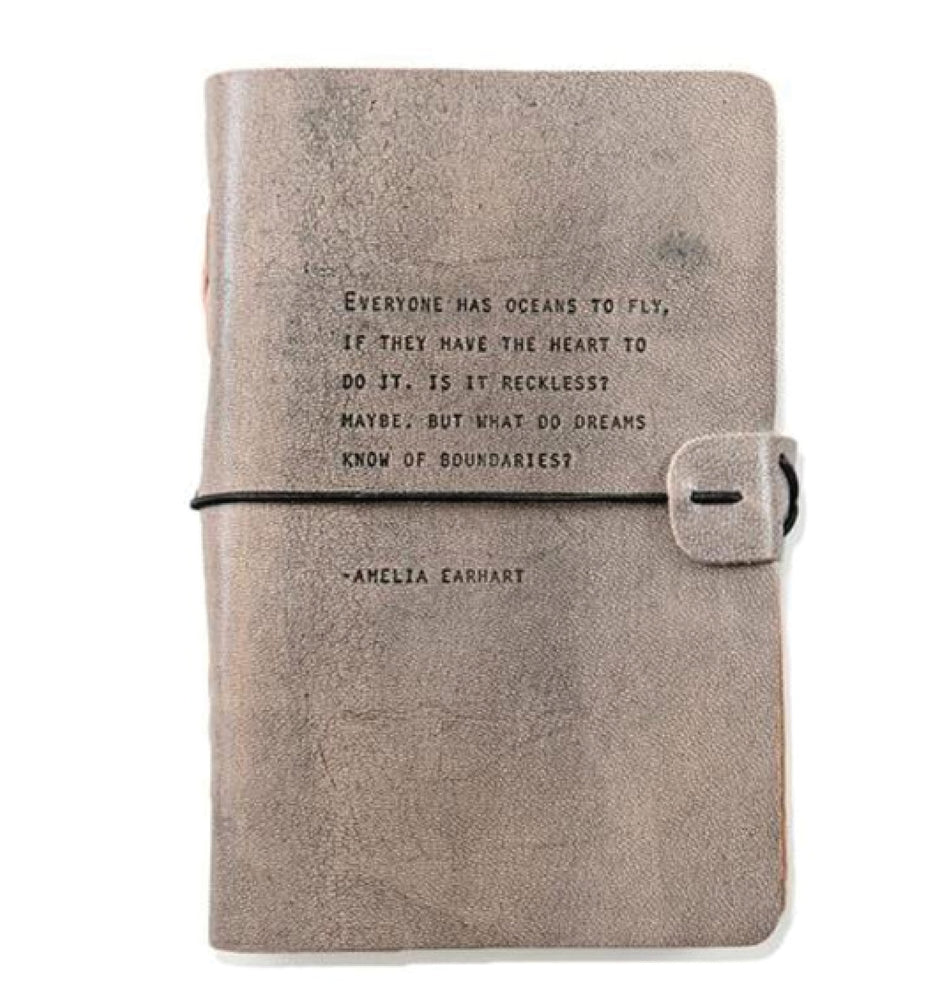 Artisan Leather Journal - Amelia Earhart
