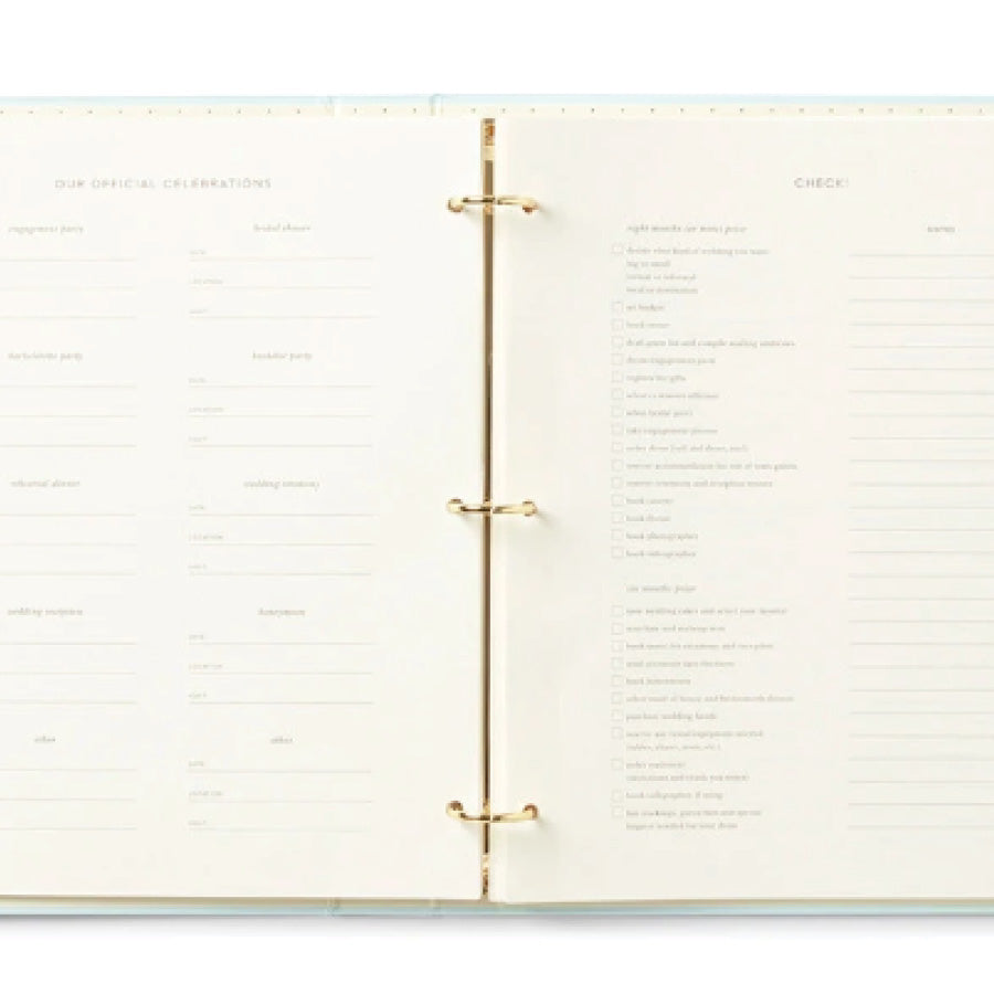 Kate Spade New York Bridal Planner - Love Is In The Air