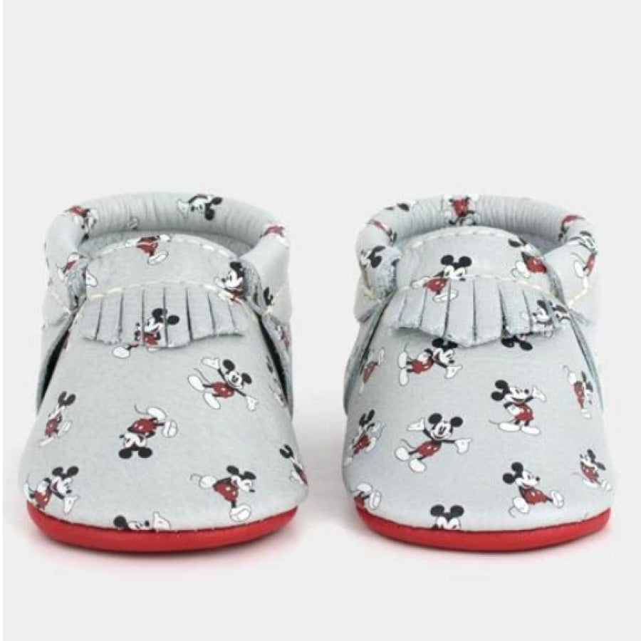 All About Mickey Moccasins Size 2 : 6-12 months