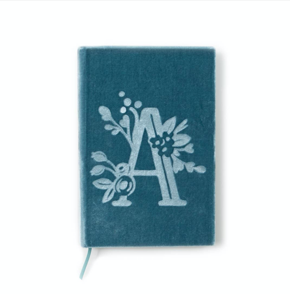 Silk Velvet Journal Book-The Writer