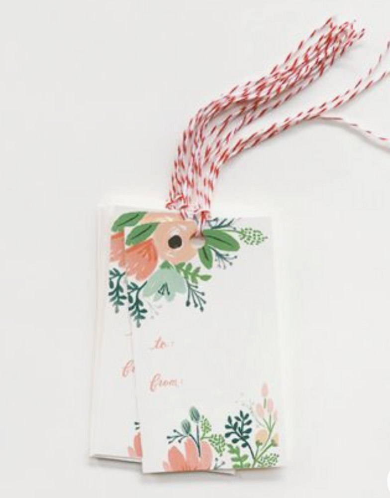 Ridfle Paper Co. - Pack of 10 Wildflower Gift Tags