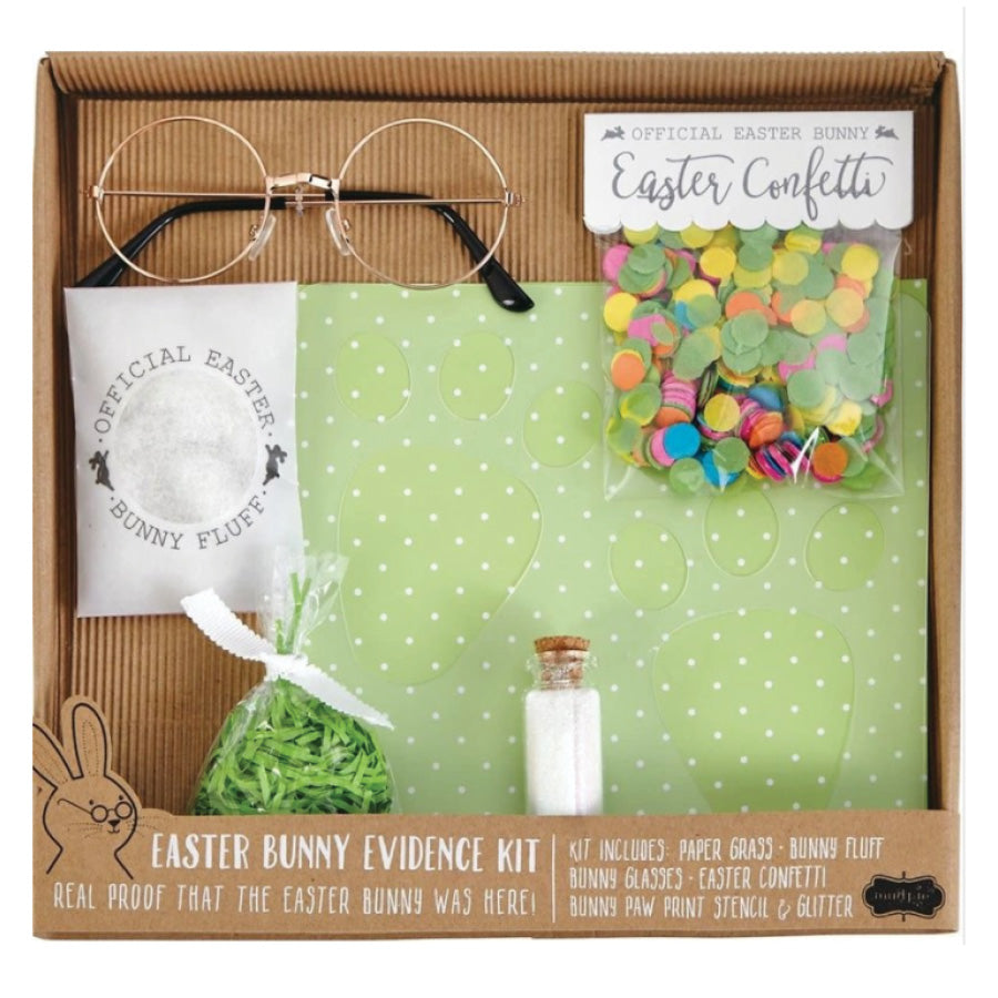 Mud Pie - Easter Bunny Evidence Kit