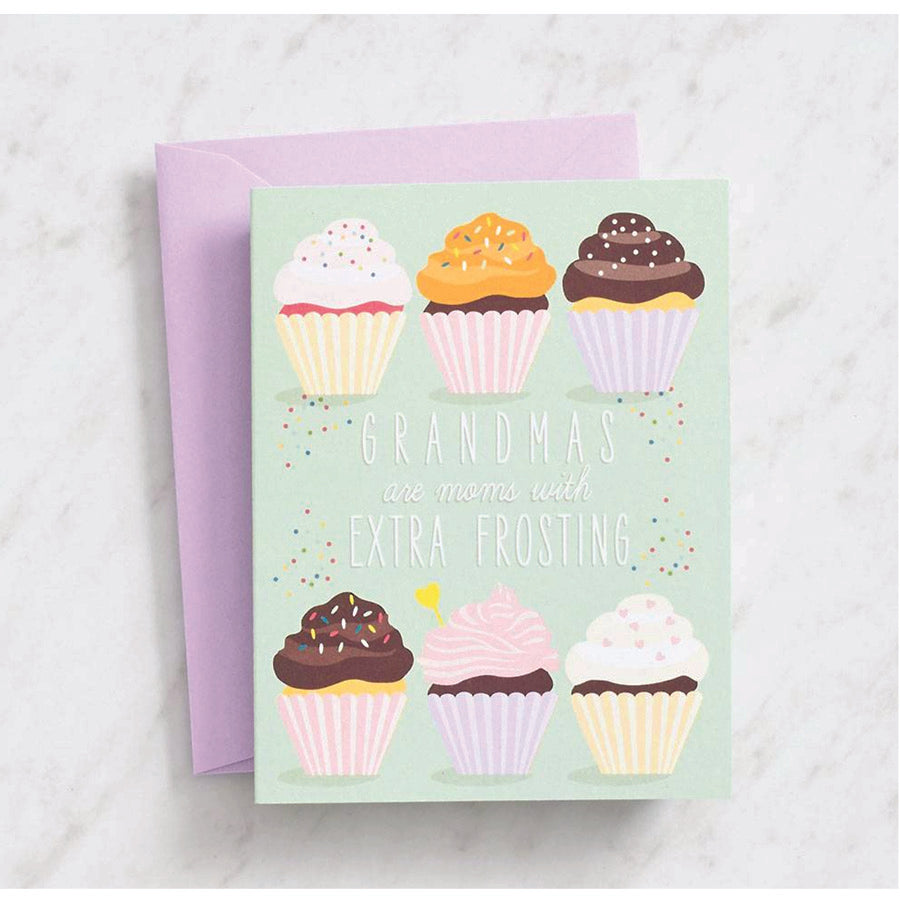 Extra Frosting Grandma Card