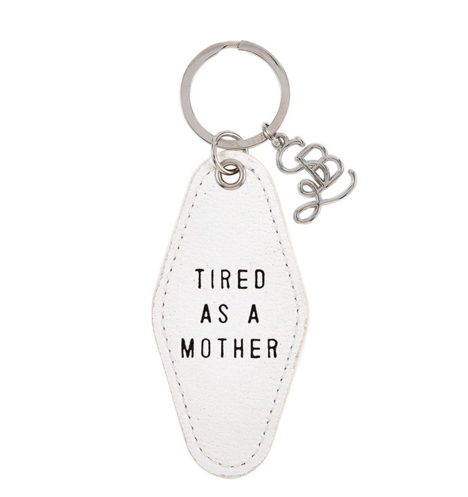 Face To face - Tired As A Mother Motel Key Tag