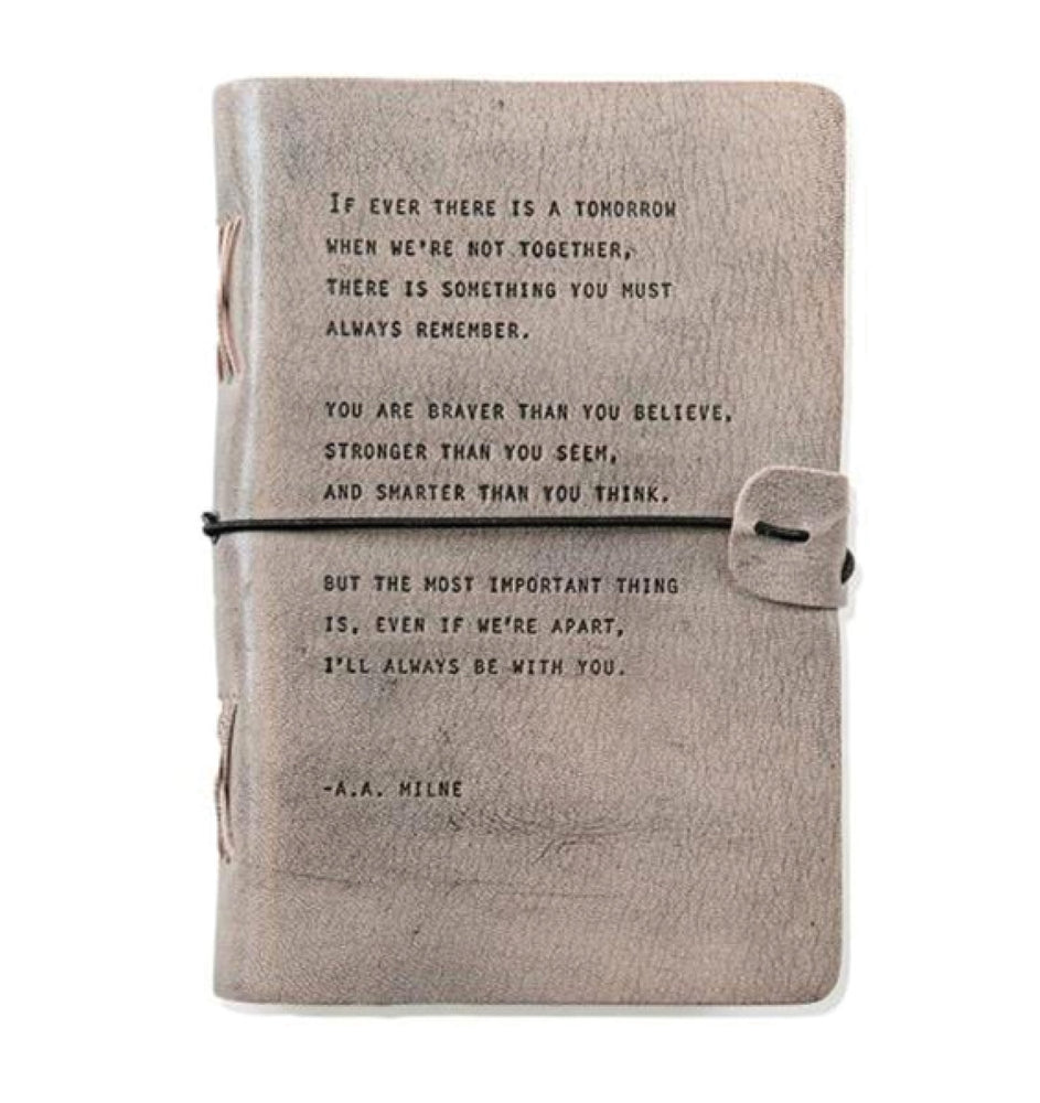 Artisan Leather Journal - A.A. Milne