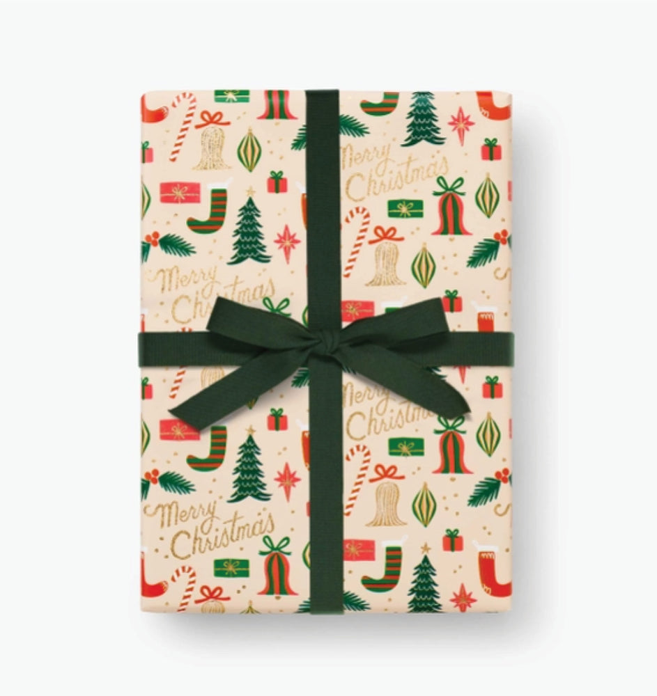 Deck The Halls Wrapping Roll