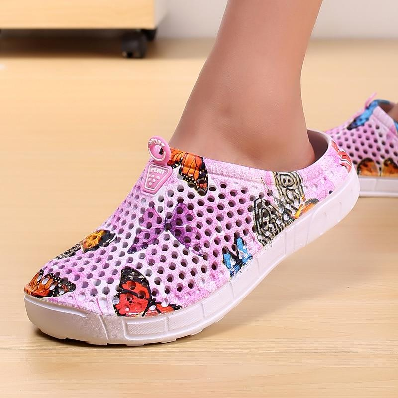 Butterfly Printed Beach Water Shoe - Beach Boujee