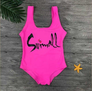 Swimall Monokini Swimsuit - Beach Boujee