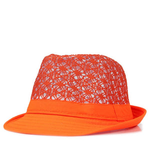 Candy Color Hollow Out Beach Hat