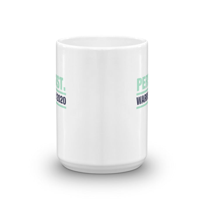 Elizabeth Warren 2020 Persist large coffee cup