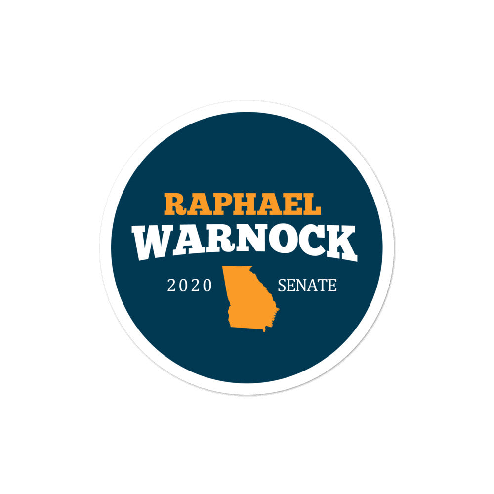 Raphael Warnock 2020 Senate Sticker
