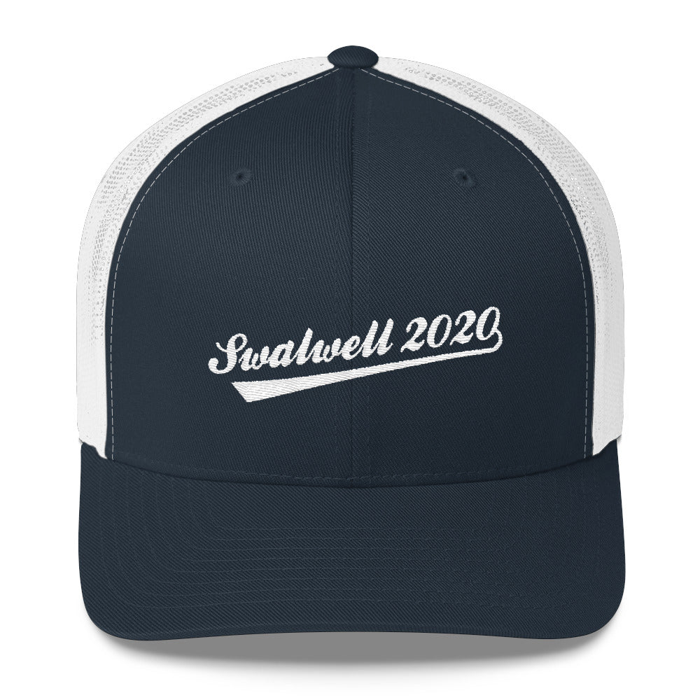 Eric Swalwell 2020 trucker hat - navy and white