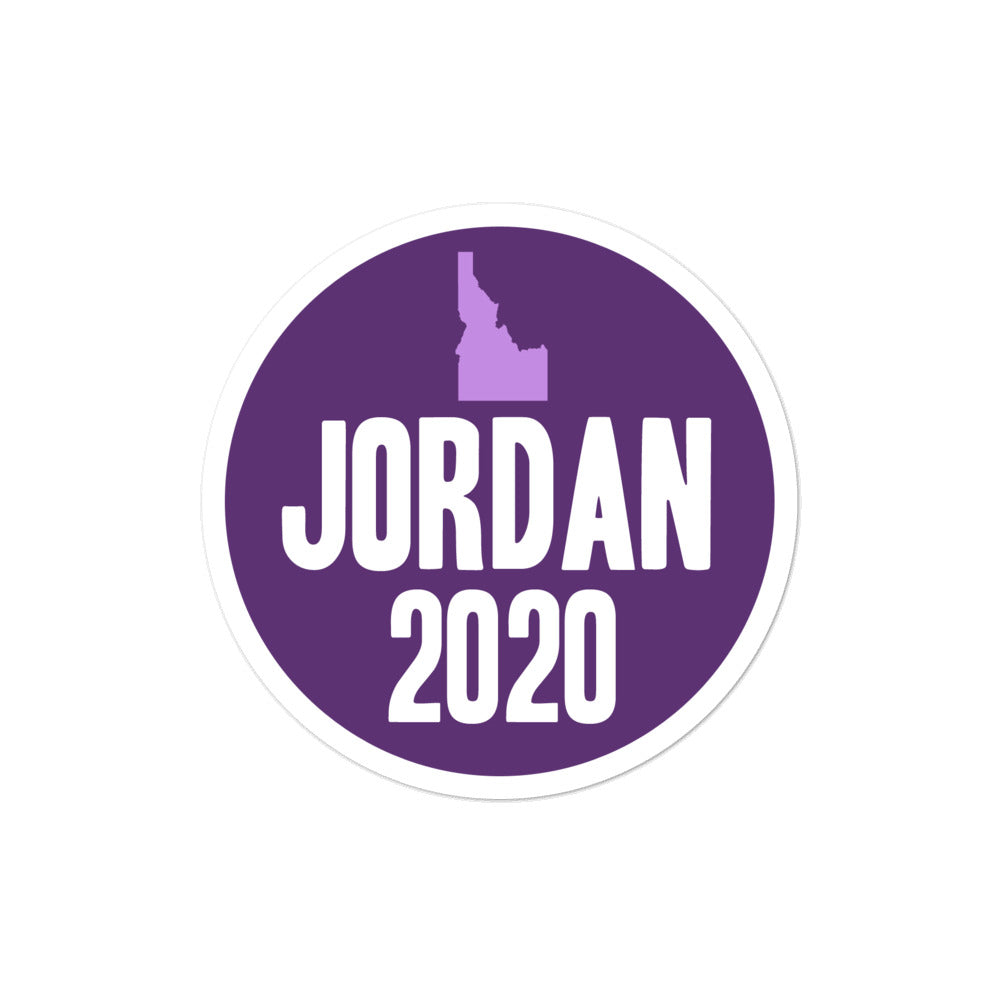 Paulette Jordan for Senate 2020 sticker