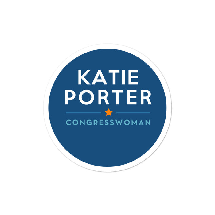 Katie Porter CA-45 2020 for Congress sticker