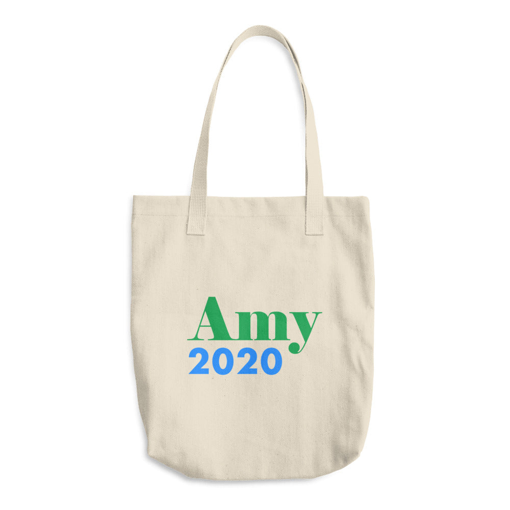 Amy Klobuchar 2020 campaign tote bag