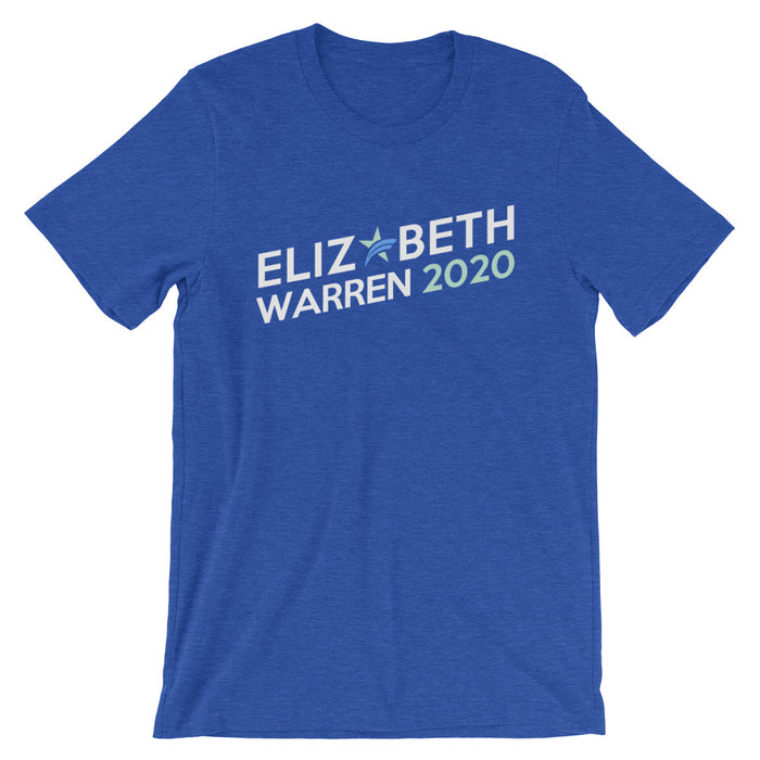 Elizabeth Warren 2020 t-shirt - royal blue